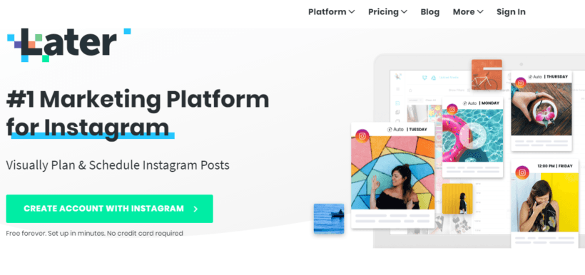 Later: Best Instagram Marketing Tools