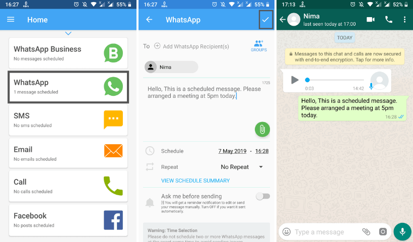 3 Must Have Android Apps for Busy WhatsApp Users 3