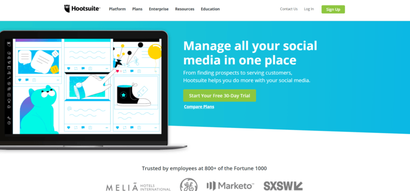 Hootsuite: Free Social Media Management Tools