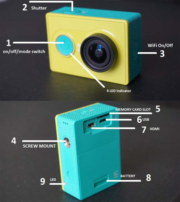 How to Use Yi Action Camera