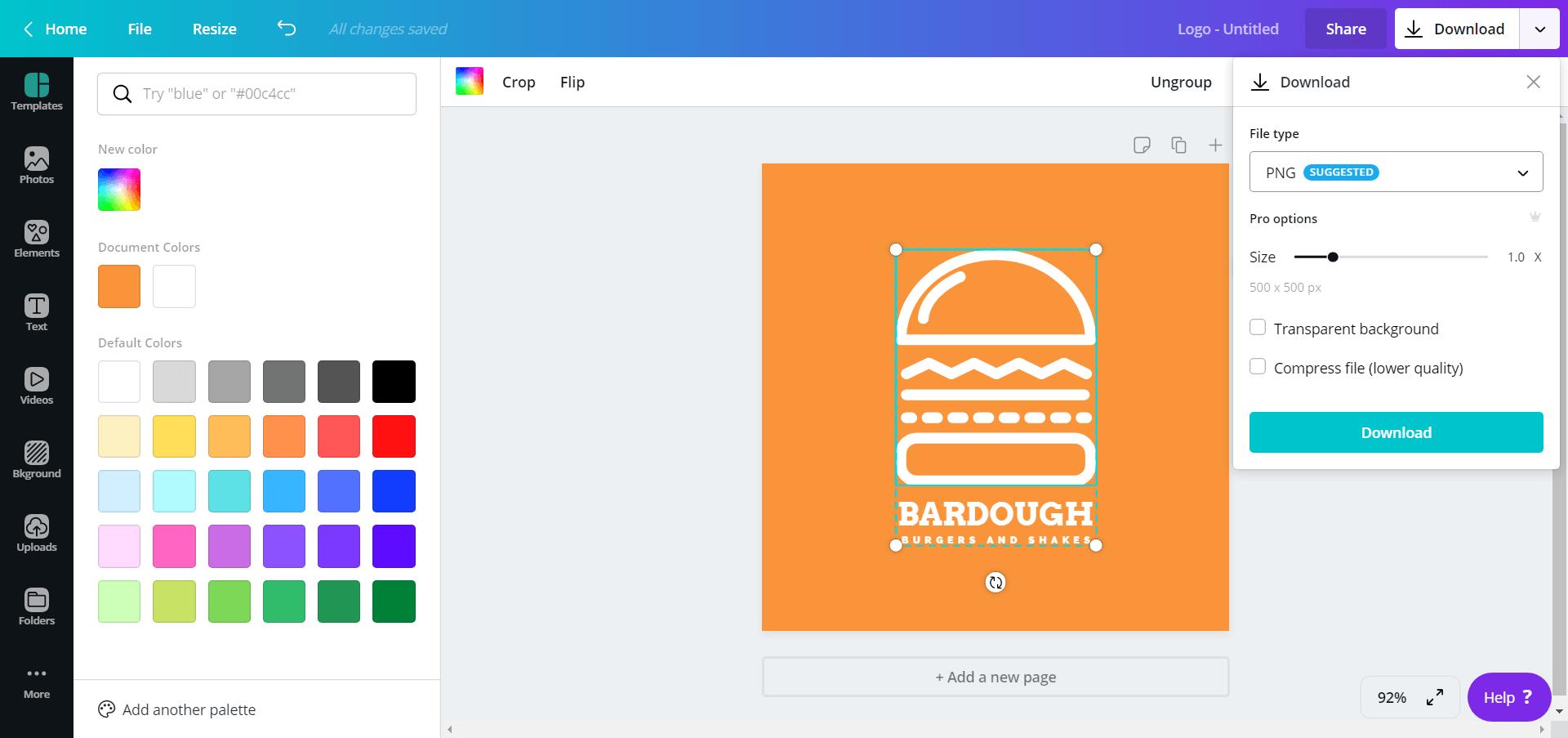Canva Logo Maker Editor