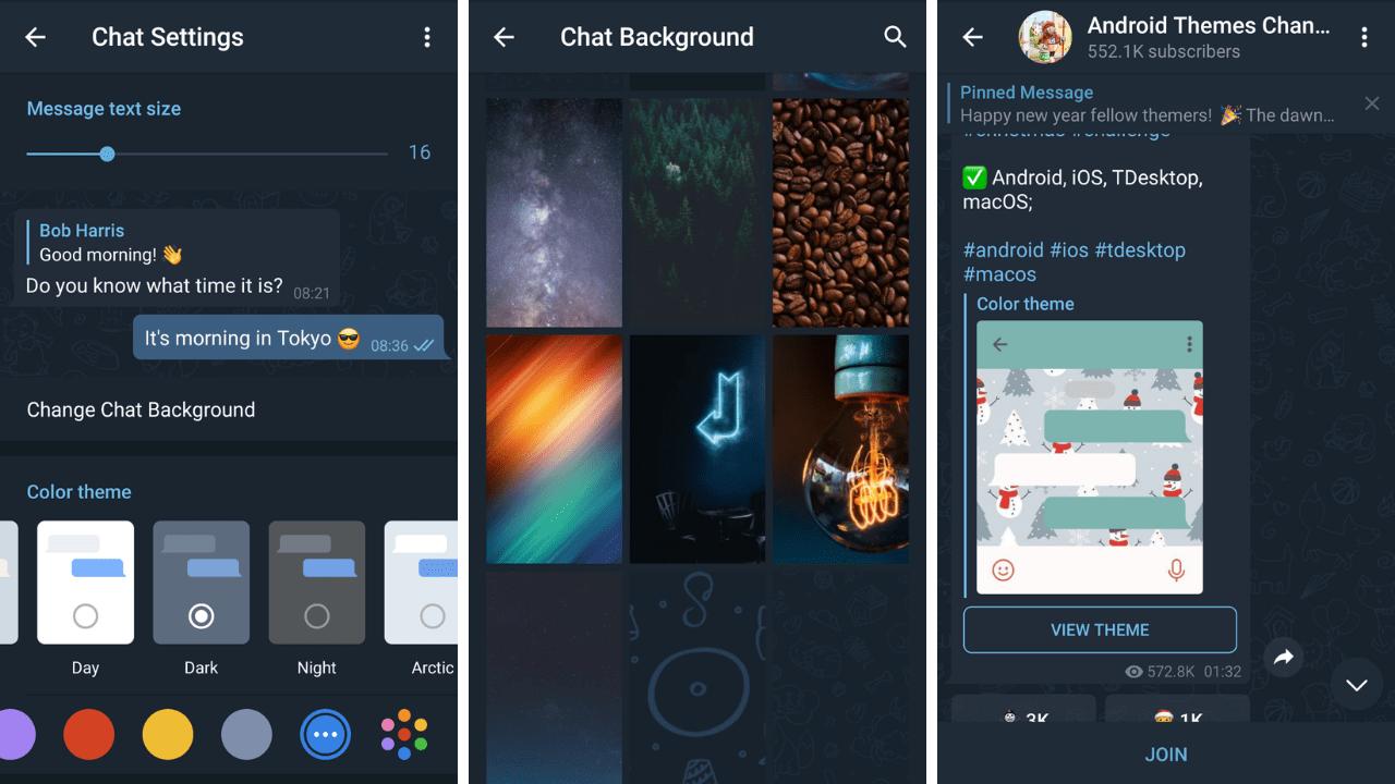 Customize Your Telegram