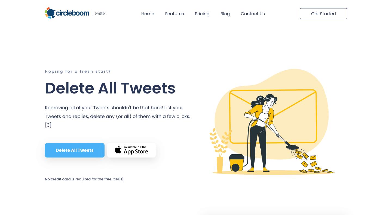 Delete All Tweets 2021