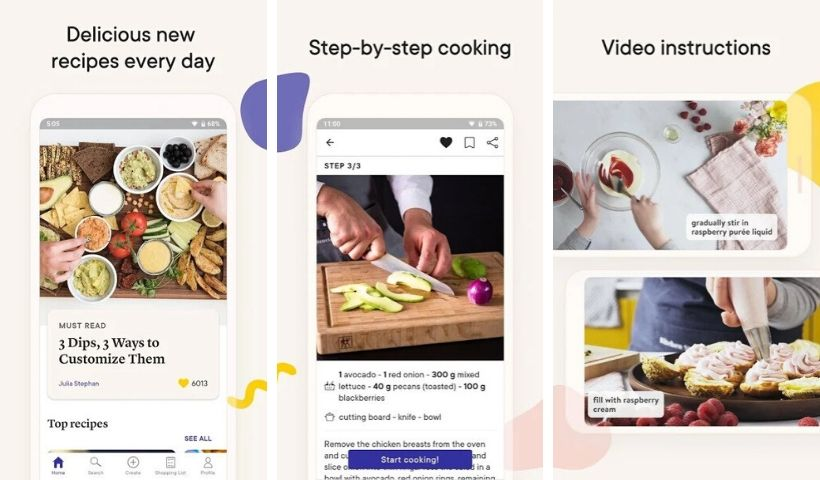 Kitchen Stories App