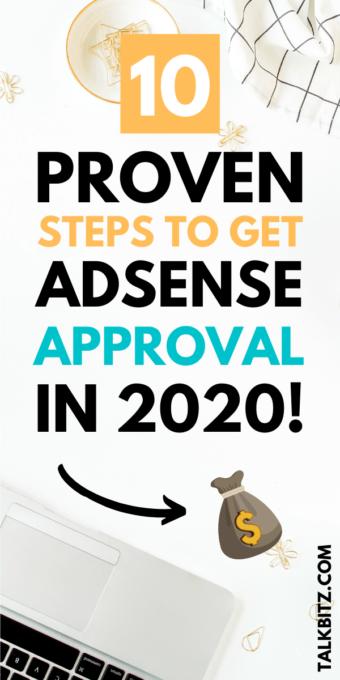 Get Adsense Approval