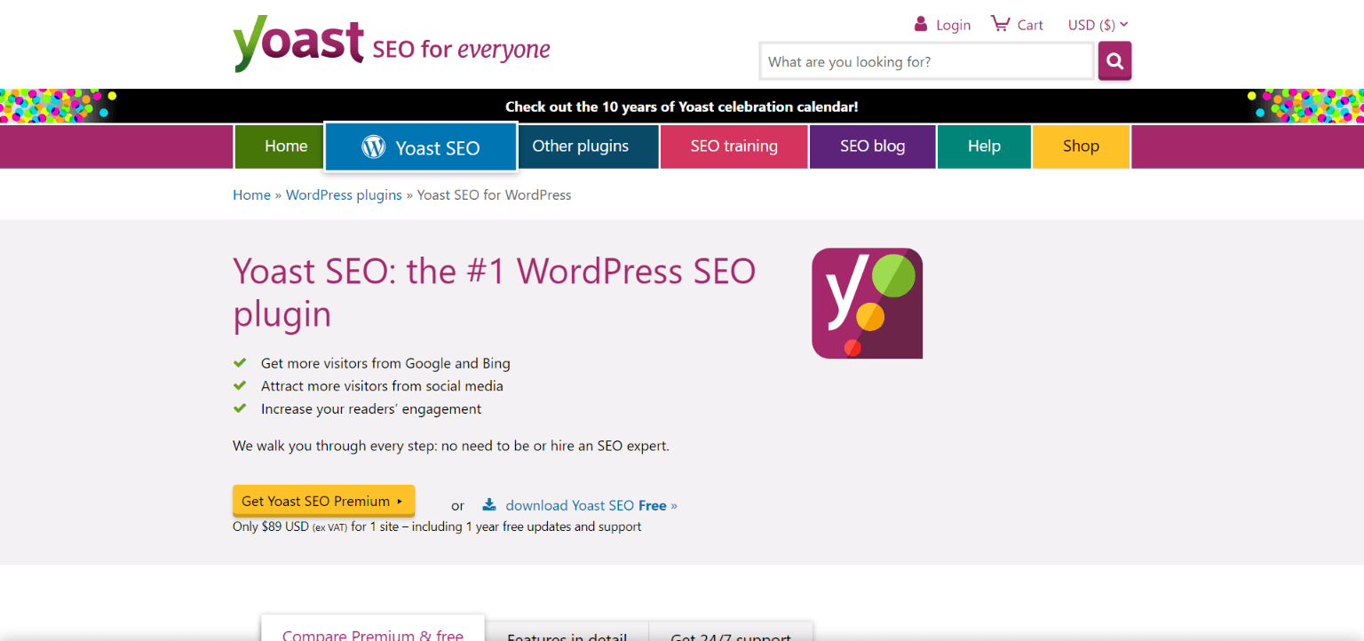 Best WordPress Plugins: Yoast SEO WordPress plugin