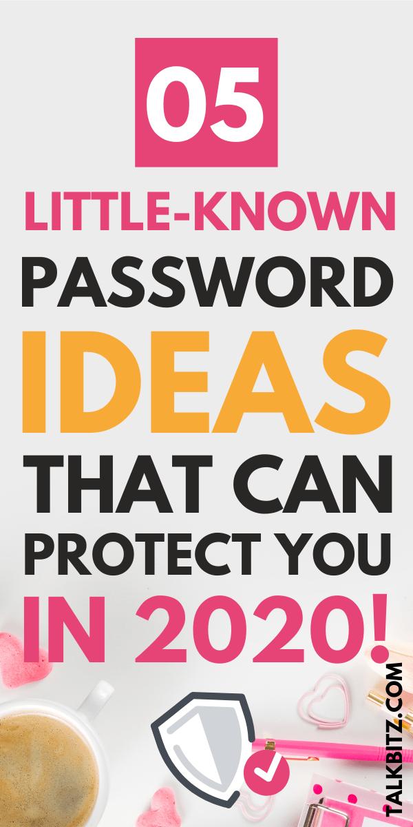 Password Ideas