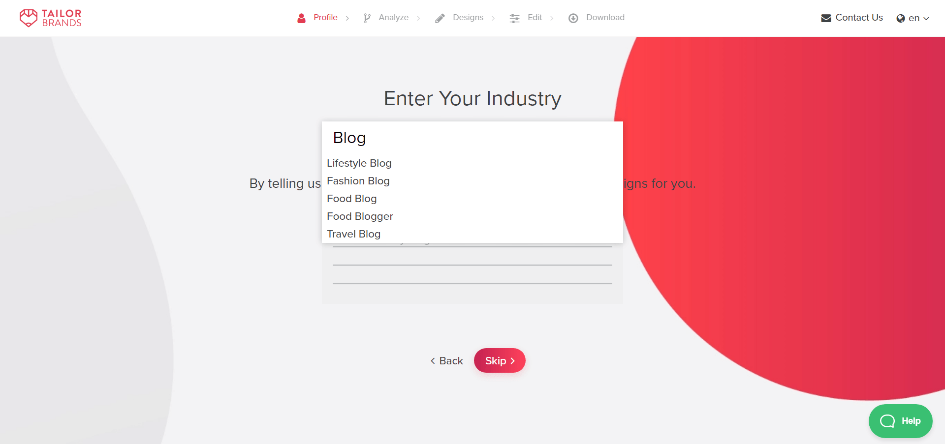 Choose Industry to Blog Logo