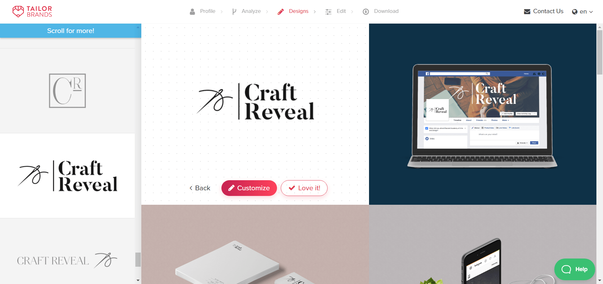 Final Blog Logo Design