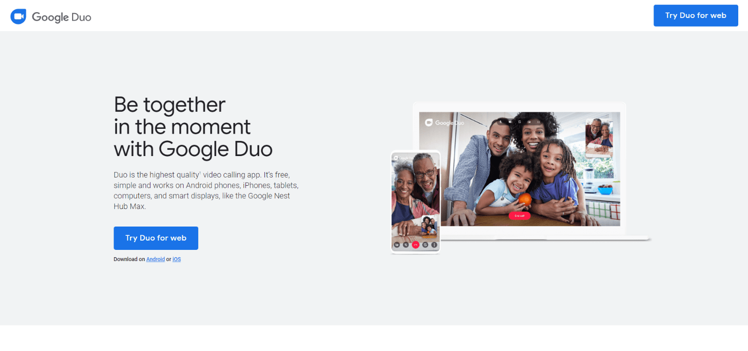 Google Duo - Free Video Conferencing Apps