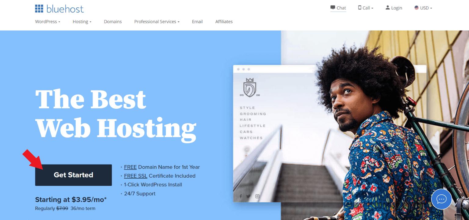Start a Blog on Bluehost 2021