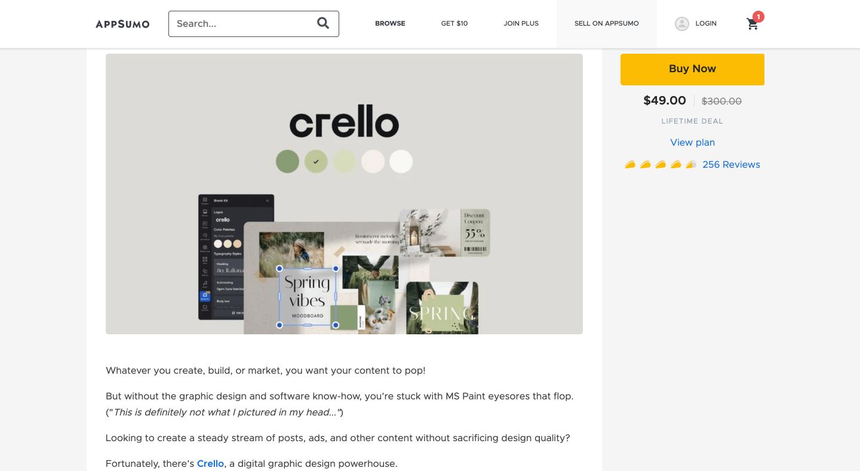 Crello lifetime deal 2021