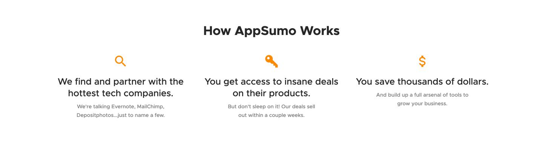 How AppSumo Works
