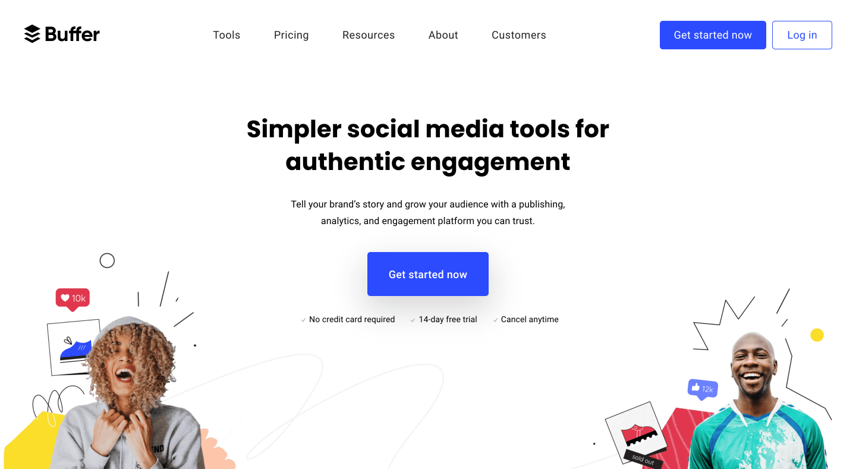 Best Social Media Scheduling Tools: Buffer Social Media Scheduler