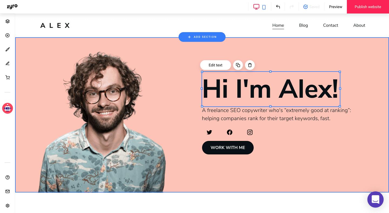 Customizing Your Portfolio Website