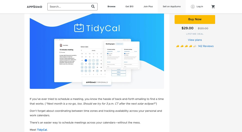 Tidycal