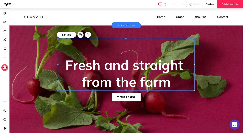 Zyro New Website Builder